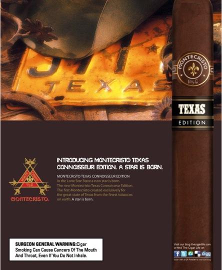 Montecristo Texas ALTADIS USA