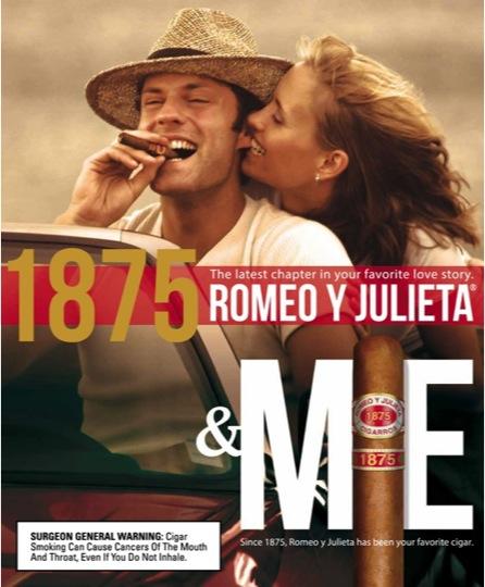 Romeo y Julieta 1875 ALTADIS USA